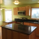 Newley remodeled kitchen